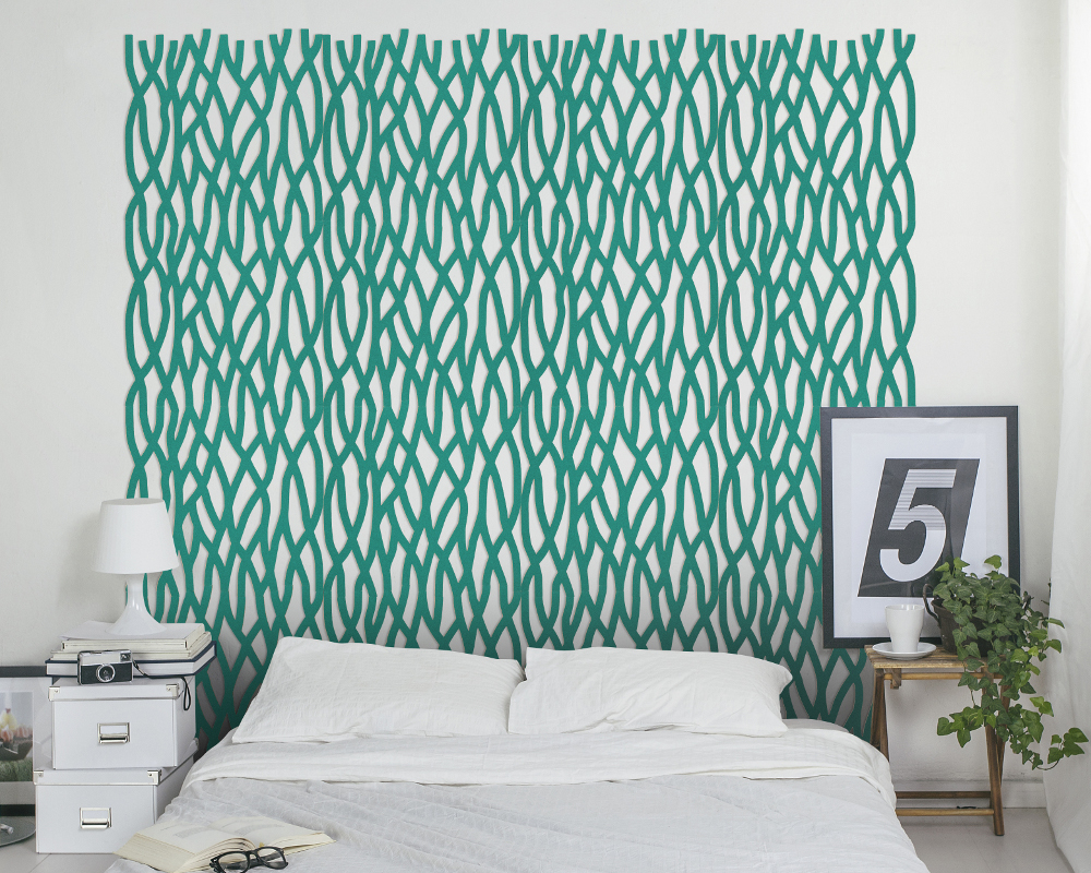 Pattern Tiles  - Self-Adhesive, 3-dimensional pattern wall tiles from Muratto