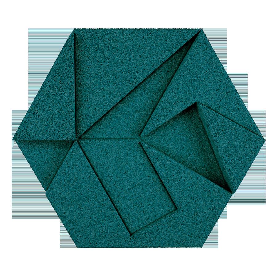 Organic Blocks Hexagon Sustainable Materials