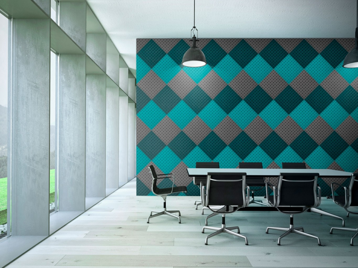 Organic Acoustic Panels Sustainable Materials